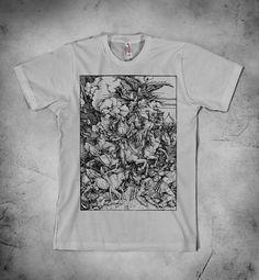 516fdfaf7c Eugène Delacroix - Mephistopheles Over Wittenberg, Goethe's Faust,  Romanticism, mens t shirt, Mephistopheles shirt, Faust t shirt