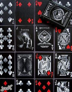 Shadow Masters - Bicycle playing cards
