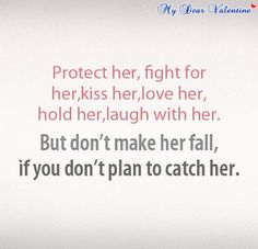 #Love #quotes- Protect her, fight for her....