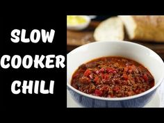 This easy slow cooker chili is the prefect dish for anyone who wants a nice meal that has a bit of heat to it. It is the perfect slow cooker dinner recipe!