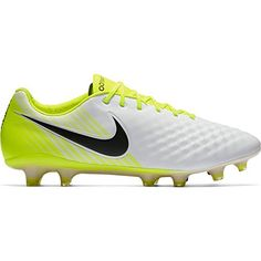 the latest d4be5 971de Nike Mens Magista Opus II FG Soccer Cleat Sz 75 White Black Volt Wolf Grey    Click on the image for additional details. (This is an affiliate link)    ...