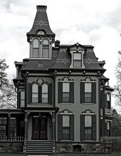 Gothic Revival Victorian house - 6 Styles of Victorian Houses
