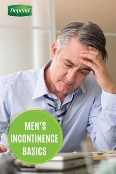 Women aren't the only ones who struggle with incontinence. For many men, it can be embarrassing to talk about this issue, but knowing as much information as possible can help you manage this common condition. Fortunately, Depend® has created a handy guide for men that covers everything from diet and exercise, to finding the right products for you.