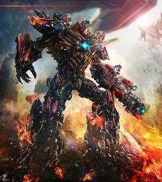 Prime On Cybertron
