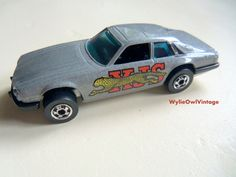Vintage Hot Wheels Jaguar XJS Made in Hong Kong by WylieOwlVintage, $8.50