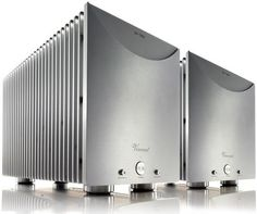 Vincent - SP-T800 Symmetrical Mono Hybrid Amplifier--Our 2013 Product of the year winner with Naim Super Uniti amplifier