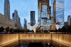Захватывающий проект узла WTC в Нью-Йорке