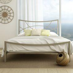 Amisco Equinox Metal Bed & Reviews   Wayfair