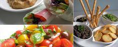 Vegan Tapas Ideas . . . especially liking the roasted cauliflower recipe