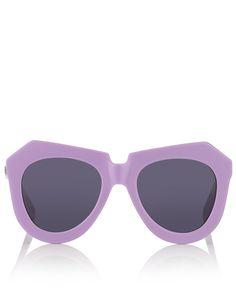 Lavender One Worship Sunglasses   Karen Walker Eyewear   Avenue32