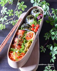 Japanese Bento Box, Japanese Food, Breakfast For Dinner, Breakfast Recipes, Sushi Recipes, Bento Box Lunch, Food Goals, Cute Food, Food Presentation