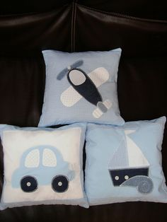 For the boys! Quilt Baby, Boy Quilts, Baby Pillows, Kids Pillows, Throw Pillows, Custom Pillows, Decorative Pillows, Cushion Covers, Pillow Covers