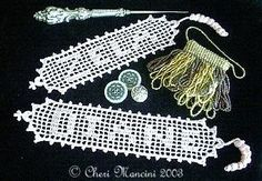 Filet Name Bookmark Crochet Pattern