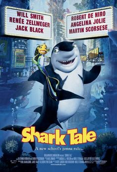 Shark Tale Movie Poster