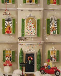 「Janet Hill The  Peppermint Family Christmas