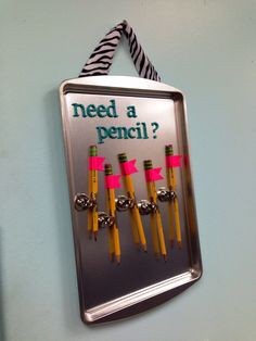 Students don't ask me for pencils anymore. No one leaves the room until all… … …