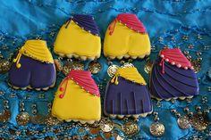 """Galletas decoradas """"Danza del vientre"""" / Belly dance cookies"""