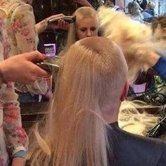 Bald Heads - Hairl Loss Tips Forced Haircut, Female Mohawk, Shave My Head, Summer Haircuts, Going Bald, Bald Hair, Hair Falling Out, Hair Tattoos, Super Long Hair