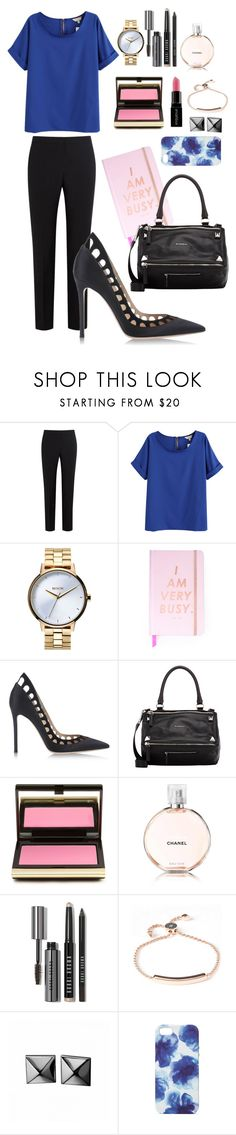"""""""Divinity"""" by predilectionist ❤ liked on Polyvore featuring Paul Smith, Nixon, ban.do, Gianvito Rossi, Givenchy, Kevyn Aucoin, Bobbi Brown Cosmetics, Smashbox, Monica Vinader and Waterford"""