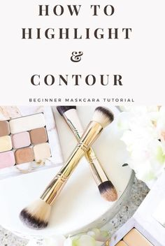 How to Highlight & Contour with Maskcara Beauty IIID Foundation - Makeup tutorial for highlighting and contouring. Easy makeup application to slim your face and brin - Maskcara Makeup, Maskcara Beauty, Makeup Primer, Makeup Tips, Contouring Makeup, Bronzer Makeup, Applying Makeup, Drugstore Beauty, Makeup Hacks