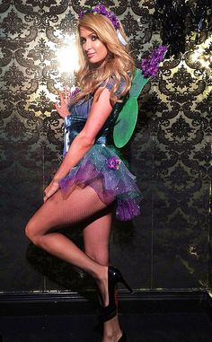When It Comes to Halloween Costumes, Paris Hilton Has a Sexy Formula