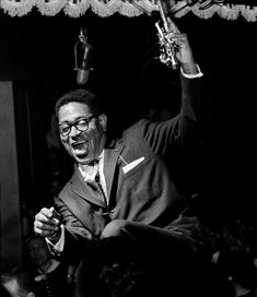 Herman Leonard, Dizzy Gillespie, New-York City, 1955