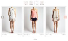 Ladies enjoy a variety of options to select from - from skirts, to dresses to short and even tops Web Design Examples, Ecommerce Web Design, Lady, Skirts, Inspiration, Tops, Dresses, Fashion, Vestidos