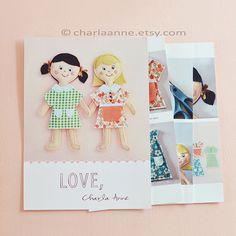 mini dolls pdf pattern/tutorial by charlaanne on Etsy, $18.50