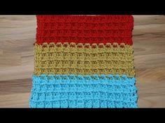 Muestra para Cobija o Manta Crochet - YouTube