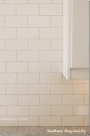 light grey grout subway tile - Google Search
