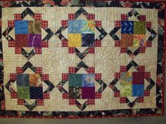 Second Chance table topper #quilt