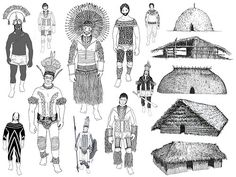 Pintura Corporal Indígena - Grafismos Xingu Brasil