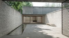 Krematorium Hörnli, Bernhard Maurer + Frederic Garrigues-Cortina | BETA