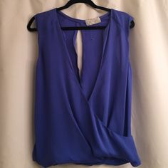 SOLD. A.L.C. Top-never worn! Vibrant cobalt blue top. Never worn. Perfect condition. A.L.C. Tops