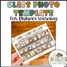 Here's a free class photo template for your virtual classrooms! I made this for my class and just thought I would share :)I included the clipart I used so you can create a class photo for any size classroom. I also included instructions on how you can change the shape of the student photos to make i... Photo Templates Free, Ipad Image, Google Classroom, Classroom Ideas, Student Photo, Virtual Class, Photo Class, Classroom Environment, Photo Projects