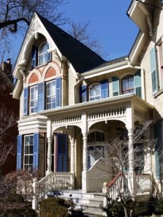 Home Styles On Pinterest Victorian Houses Victorian And Mansions