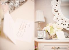 Inspiration from Wedluxe for a Parisian style baby girl nursery