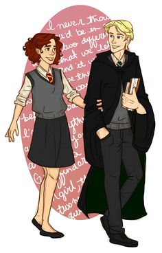 Rose and Scorpius together again by emmilinne.deviantart.com on @deviantART
