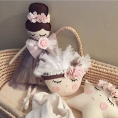 Beautiful bespoke dolls and cushions made by me @i_said_so_kids contact via Instagram for details XO