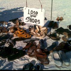 Beach wedding signs by Siesta Key Events
