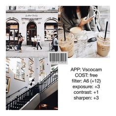 VSCO CAM - Ultimate guide to editing your insta pics! Instagram Theme Vsco, Instagram Photo Editing, Photo Editing Vsco, Foto Instagram, Image Editing, White Feed Instagram, White Instagram Theme, Instagram Photos Photography, Preview Instagram
