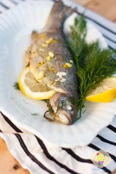 trout with lemon garlic