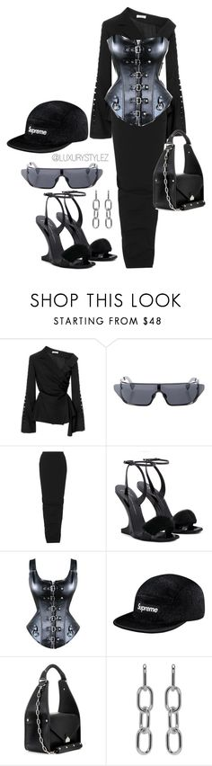 """LUXURYSTYLEZ  WOMENS FASHION , DOPE FASHION, STREET WEAR,"" by luxurystylez on Polyvore featuring Adeam, Christian Dior, Rick Owens, Picard, Balenciaga and Alexander Wang"