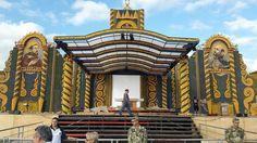 Altar de maíz en Paraguay para el Papa Francisco. Autor: Koki Ruiz.  #altardemaiz #papaenpy #paraguay #kokiruiz