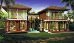 tropical modern house exterior | tropical modern402