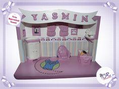 Porta Maternidade Miniatura de Quarto Yasmin
