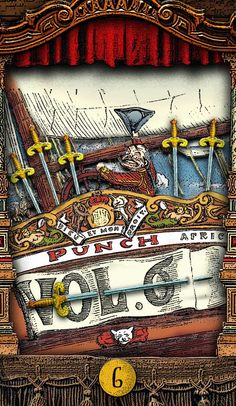 The Tarot of Mister Punch: Avast! - If you love Tarot, visit me at www.WhiteRabbitTarot.com