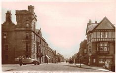 RPPC-Callander-Scotland-U-K-Main-St-Ancaster-amp-Eagler-Temperance-Hotels-c-1909