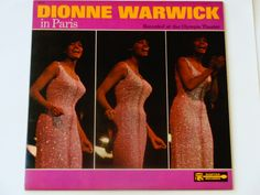 """Dionne Warwick in Paris - """"Message to Michael"""" - """"Walk on By"""" - """"I Love Paris"""" - Scepter Records 1966 - Vintage Vinyl LP Record Album by notesfromtheattic on Etsy"""