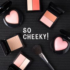 Love at first blush! Contact me to get your favorite cheeky products.